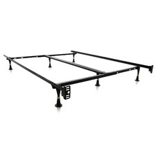 6 Leg Adjustable Metal Bed Frame