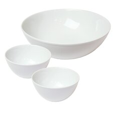 """Universalschüssel Set """"Molto Bene"""" aus Porzellan in Weiß"""