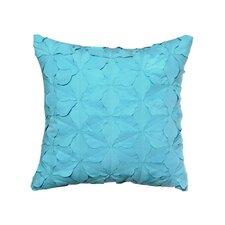 Electric Beach Ruffled Decorative Throw Pillow