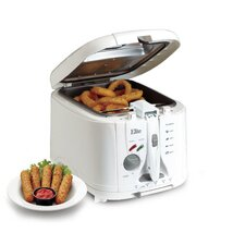 Cuisine 2 Quart Cool Touch Deep Fryer with Timer