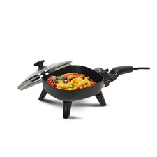 "Cuisine 7"" Electric Skillet with Glass Lid"