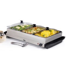 Platinum 7.5 Qt. Stainless Steel Electric Buffet Server