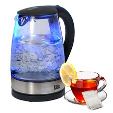 Platinum 1.8-qt. Cordless Glass Electric Tea Kettle