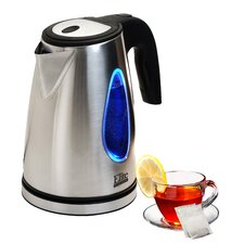 Platinum 1.8 Qt. Stainless Steel Cordless Electric Tea Kettle
