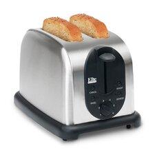 Platinum 2 Slice Stainless Steel Toaster