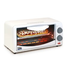 Cuisine 2-Slice Toaster Oven with Broiler and Timer