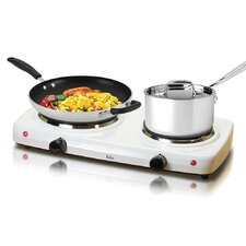 Cuisine Electric Double Hot Plate Burner