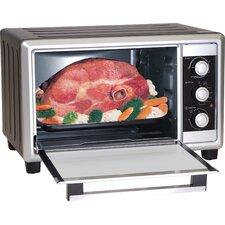 Elite Cuisine 6 Slice Toaster Oven Broiler with Rotisserie