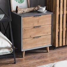 Minimalist 3 Drawer Wooden Cabinet