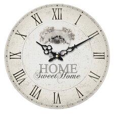 Wanduhr Home Sweet Home 34 cm