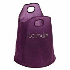 Polyester Diamantes Dual Handled Laundry Bag
