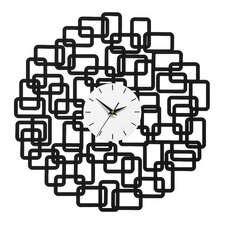 Wanduhr Abstract Squares