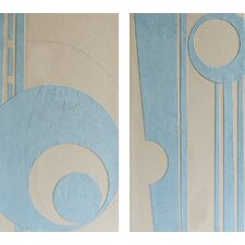 2-tlg. Wandbilderset - 70 x 40 cm