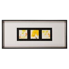 Wandbild Blumen - 35 x 80 cm