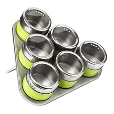 6-Piece Spice Tin Set