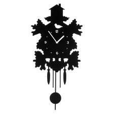 Analoge Wanduhr Pendulum XXL