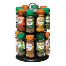 Turnable Spice Rack with Spices
