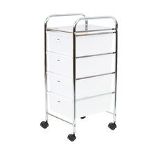 4 Drawer Mobile Storage Unit