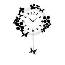 Analoge Wanduhr Pendulum