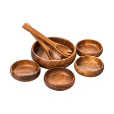 Acacia 7-Piece Salad Set