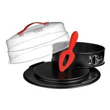Kuchenspringform und Trägerset Antihaft