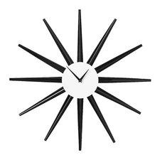 Analoge Wanduhr Sonnenstrahlen 58 cm