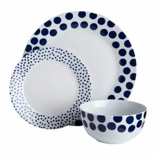 Spots 12 Piece Dinnerware Set