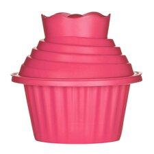 3-tlg. Cupcake Backform-Set Giant Antihaft