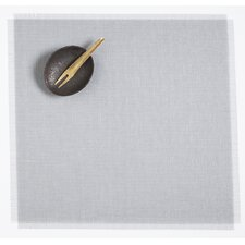 Metallic Fringe Square Placemat