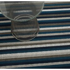 Shag Even Stripe Floor Mat