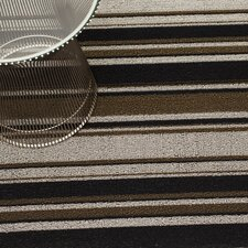 Luxe Striped Floor Mat