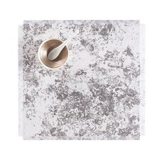 Faded Floral Square Placemat