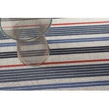 Mixed Stripe Shag Floor Mat