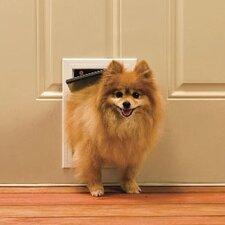 "5-1/8"" x 7-5/8"" Small Aluminum Freedom Dog Door"