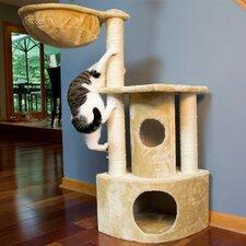 """44"""" Peek-a-Boo Cat Tree"""