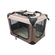 Multipurpose Pet Soft Crate with Fleece Mat