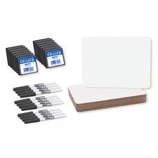 Dry Erase Lap Board Whiteboard, 1' H x 1' W