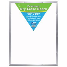 Framed Dry Erase Whiteboard