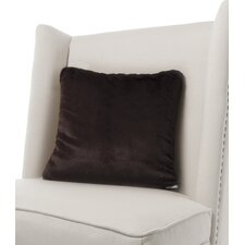 Luxe Solid Faux Fur Throw Pillow