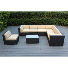 8 Piece Seating Group with Cushions