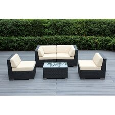 5 Piece Deep Seating Group with Cushion