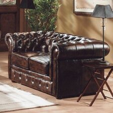 2-Sitzer Chesterfield Sofa