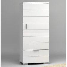 Drehtürenschrank Barv, 174.5 cm H x 75 cm B x 44 cm T