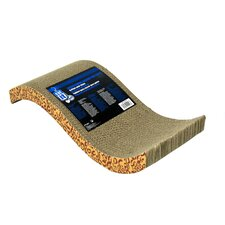 Catit S-Chaise Cardboard Scratching Board