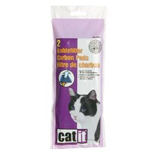 Catit Carbon Pads for Hooded Cat Pan (Set of 4)