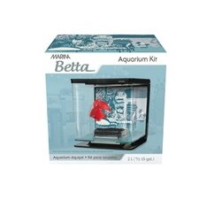 Marina 0.5 Gallon Wild Things Betta Aquarium Kit
