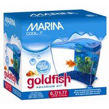 Marina 1.77 Gallon Cool Seven Goldfish Aquarium Kit