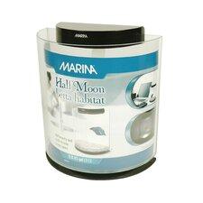 Marina 0.8 Gallon Halfmoon Betta Aquarium Bowl