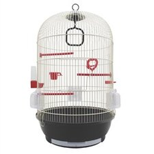 Living World Bird Cage with 3 Perches