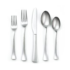 Keats Satin 20 Piece Flatware Set